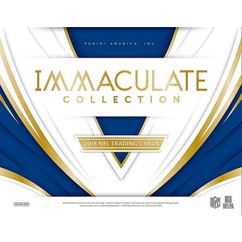 2018 Panini Immaculate Football 6-Box Case- 2018 Holiday 32 Spot Pick Your Team Break #1