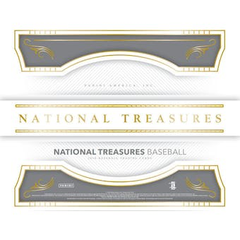2018 Panini National Treasures Baseball 4-Box Case- DACW Live 30 Pick Your Team Break #2