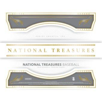 2018 Panini National Treasures Baseball 4-Box Case- DACW Live 30 Pick Your Team Break #2