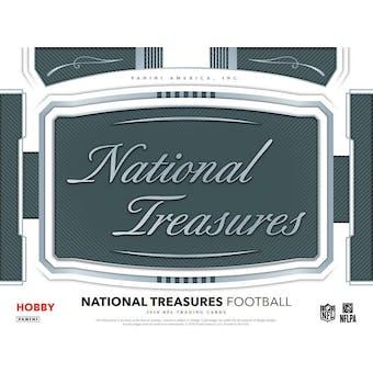 2018 Panini National Treasures Football 4-Box Case- DACW Live 32 Spot Random Team Break #1