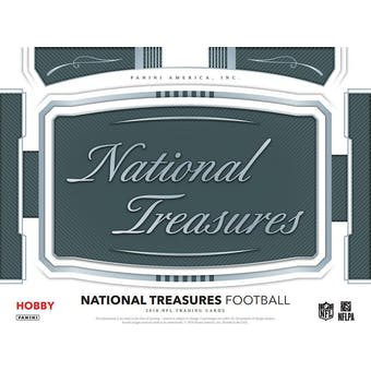 2018 Panini National Treasures Football 4-Box Case- DACW Live 32 Spot Pick Your Team Break #1