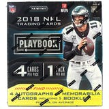 2018 Panini Playbook Football Hobby Box