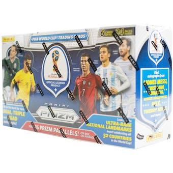 2018 Panini Prizm FIFA World Cup Soccer Hobby Box