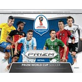 2018 Panini Prizm FIFA World Cup Soccer Jumbo 20-Box Case