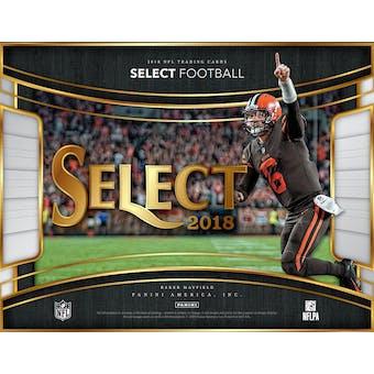 2018 Panini Select Football 12-Box Case-  DACW Live 32 Spot Pick Your Team Break #2
