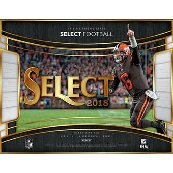 2018 Panini Select Football 12-Box Case-  DACW Live 32 Spot Pick Your Team Break #1