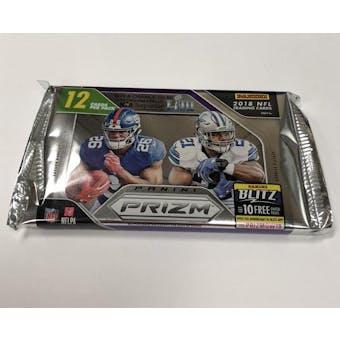 2018 Panini Prizm Football Hobby Pack