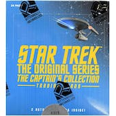 Star Trek The Original Series The Captain's Collection Trading Cards Box (Rittenhouse 2018)