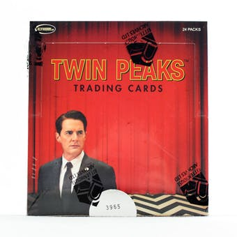 Twin Peaks Trading Cards Box (Rittenhouse 2018)