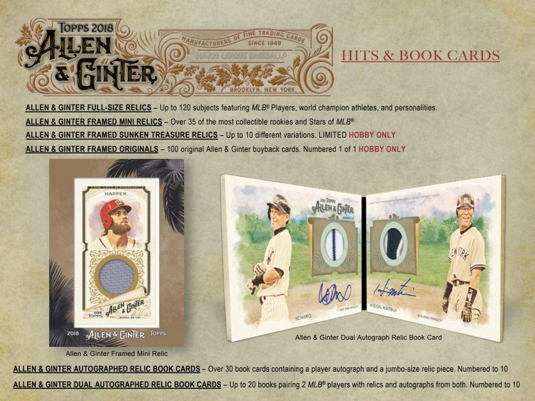 2018 Topps Allen & Ginter Baseball Hobby Box | DA Card World