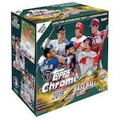 2018 Topps Chrome Update Baseball Mega Box