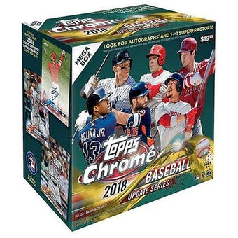 2018 Topps Chrome Update Baseball Mega Box