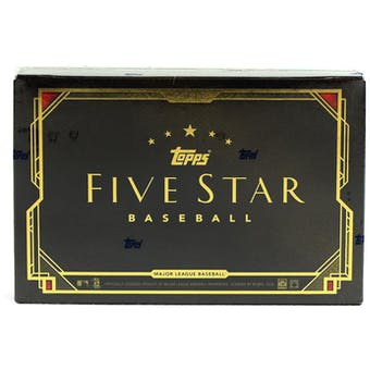 2018 Topps Five Star Baseball Hobby Box
