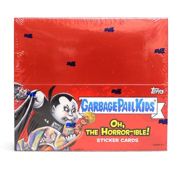 Garbage Pail Kids Series 2 Oh, the Horror-ible Hobby Box (Topps 2018)