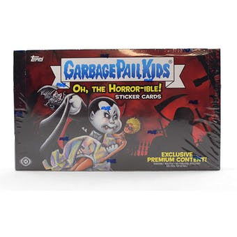 Garbage Pail Kids Series 2  Oh, The Horror-ible Hobby Collector Edition Box (Topps 2018)