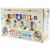 2018 Topps Heritage Baseball Hobby Box