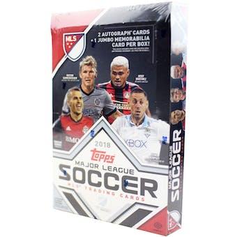 2018 Topps MLS Major League Soccer Hobby Box