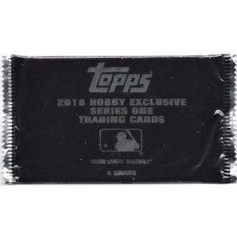 2018 Topps Series 1 Baseball Silver Pack