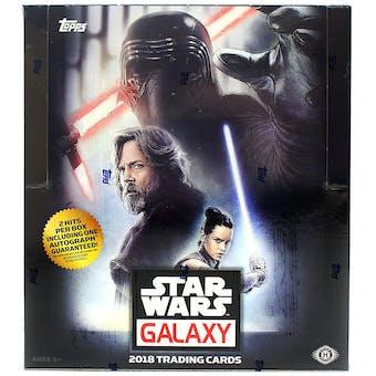 Star Wars Galaxy Hobby Box (Topps 2018)