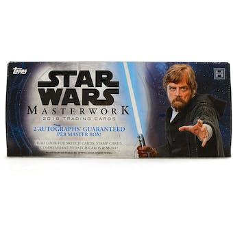 Star Wars Masterwork Hobby Box (Topps 2018)