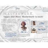 Star Wars Masterwork Hobby Mini-Box (Topps 2018)