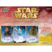 Star Wars Stellar Signatures Case - Transcendent! - (Topps 2018)