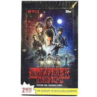 Stranger Things Trading Cards Hobby Box (Topps 2018)