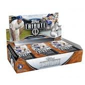 2018 Topps Tribute Baseball Hobby Box