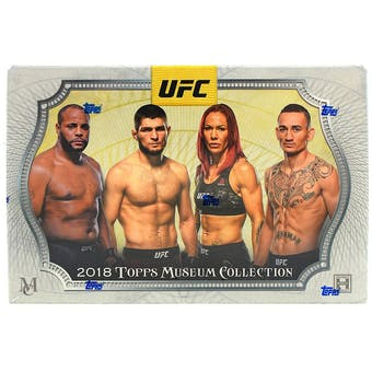 2018 Topps UFC Museum Collection Hobby Box