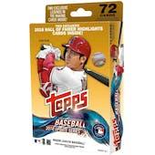 2018 Topps Update Series Baseball Hanger Box