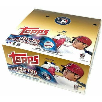 2018 Topps Update Series Baseball Retail 24-Pack Box