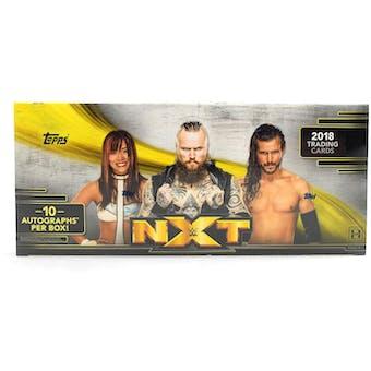 2018 Topps WWE NXT Wrestling Hobby Box