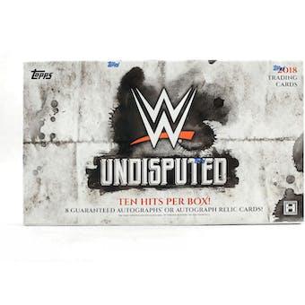 2018 Topps WWE Undisputed Wrestling Hobby Box