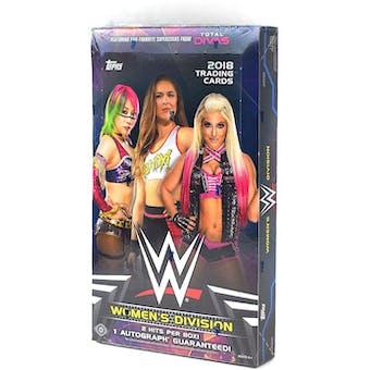 2018 Topps WWE Women's Division Wrestling Hobby Box