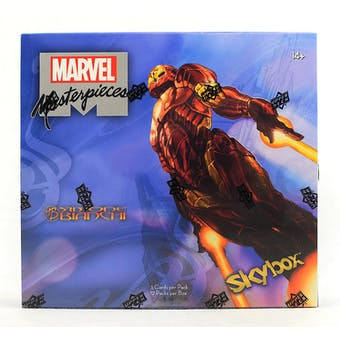Marvel Masterpieces (featuring Simone Bianchi) Hobby Box (Upper Deck 2018)