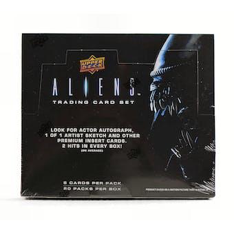 Aliens Trading Cards Hobby Box (Upper Deck 2018)