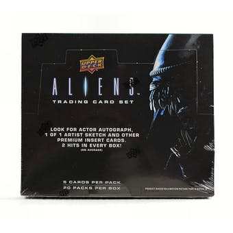 Aliens Trading Cards Hobby Box (Upper Deck 2018)