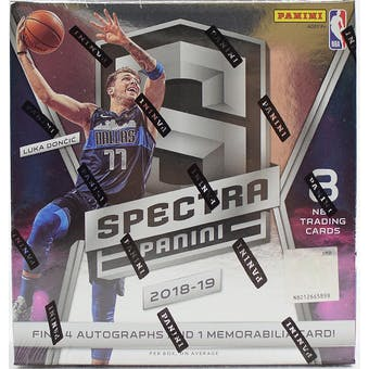 2018/19 Panini Spectra Basketball 8-Box Case- DACW Live 30 Spot Pick Your Team Break #2