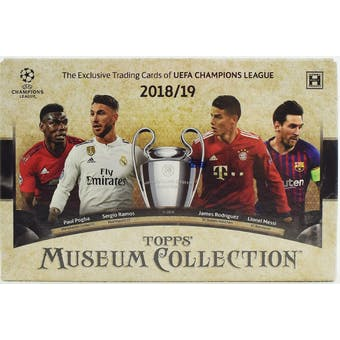 2018/19 Topps UEFA Champions League Museum Collection Soccer Hobby Box