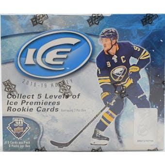 2018/19 Upper Deck Ice Hockey Hobby Box
