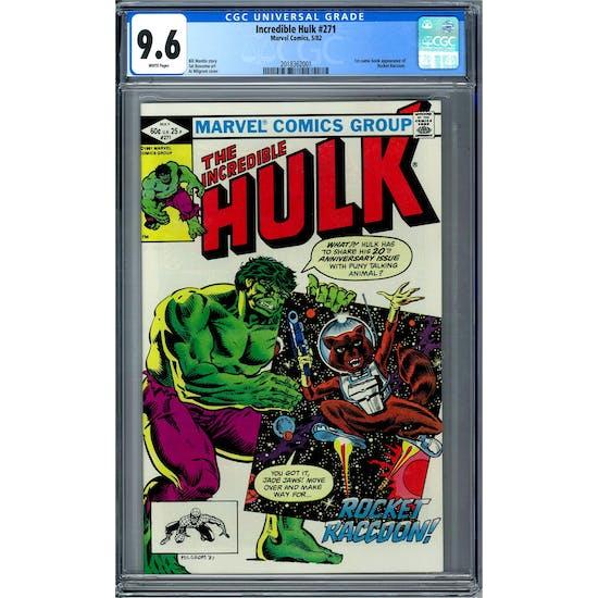 Incredible Hulk #271 CGC 9.6 (W) *2018362001*