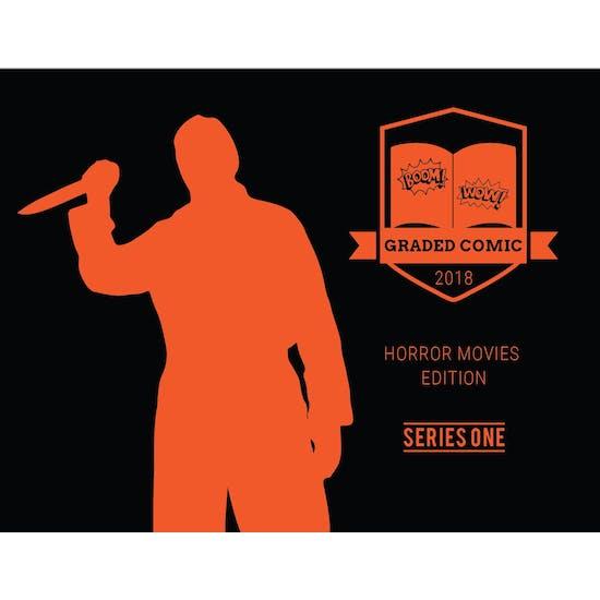 2018 Hit Parade Horror Movies Graded Comic Edition Hobby Box - Series 1 - CGC 9.8 Paul Rudd Sig Series!