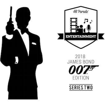 2019 Hit Parade James Bond 007 Edition - Series 1 - Hobby Box /50 Moore - Craig - Brosnan