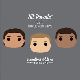 2019 Hit Parade Triple POP Vinyl Signature Edition Hobby Box - Series 1 - Chris Evans & Mark Ruffalo Autos!