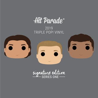 2019 Hit Parade Triple POP Vinyl Signature Edition Hobby Box - Series 1 - Chris Evans & Mark Ruffalo Autos!