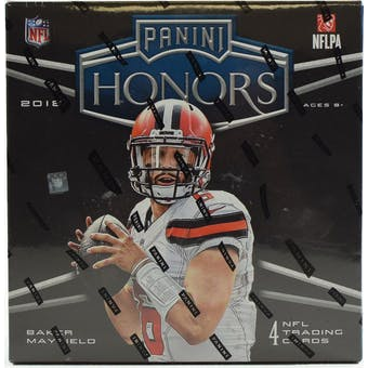 2018 Panini Honors Football 10-Box Case- DACW Live 32 Spot pick Your Team Break #1