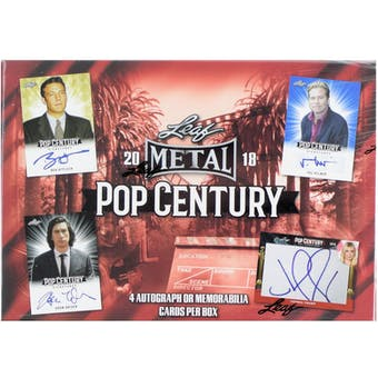 2018 Leaf Metal Pop Century Box