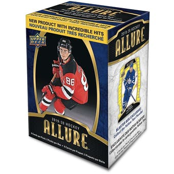 2019/20 Upper Deck Allure Hockey 5-Pack Blaster Box