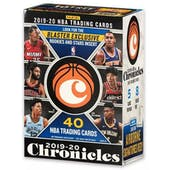 2019/20 Panini Chronicles Basketball 8-Pack Blaster 20-Box Case