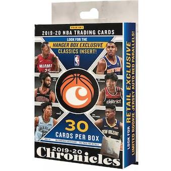 2019/20 Panini Chronicles Basketball Hanger 36-Box Case
